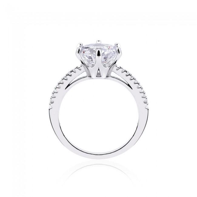 Nhẫn bạc Hera 3