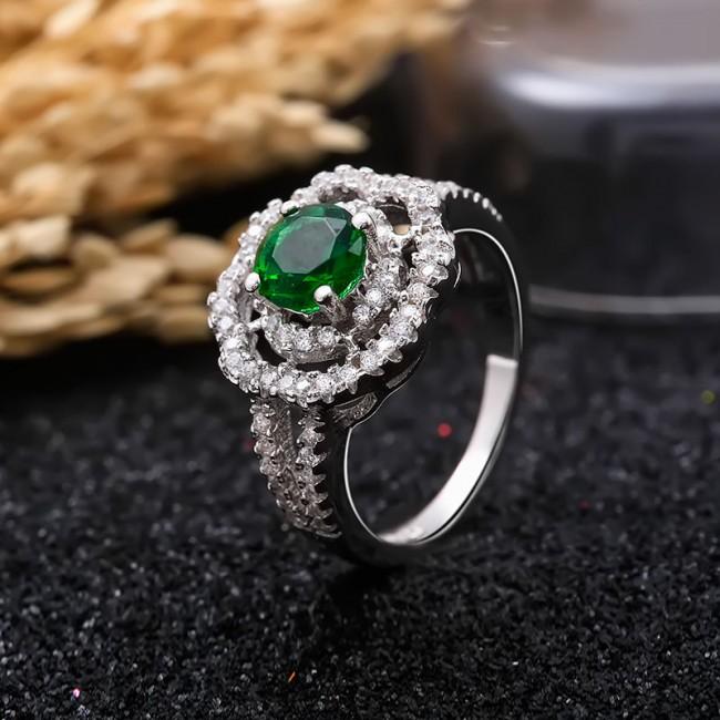 Nhẫn bạc Kim Lady 3