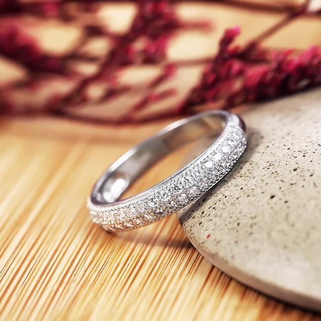 Nhẫn bạc Kuroko Love  3