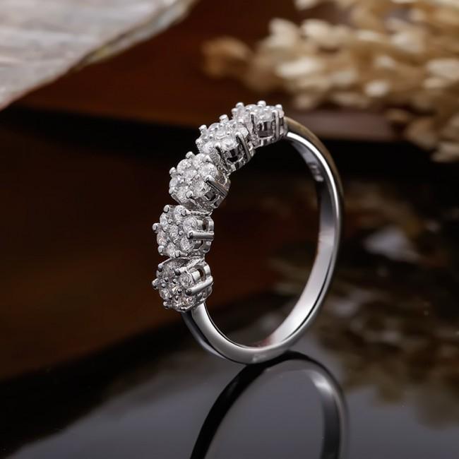 Nhẫn bạc Lavender 3