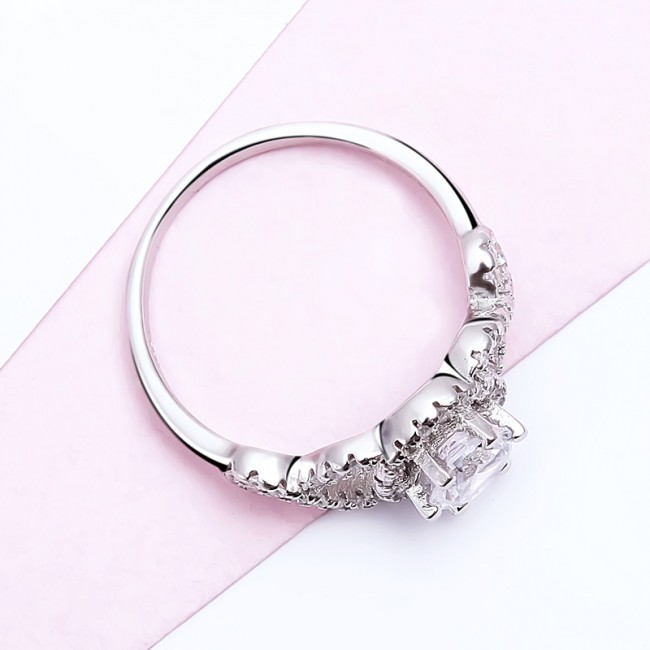 Nhẫn bạc Linnda Love 3