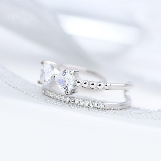 Nhẫn bạc Little Bow 3