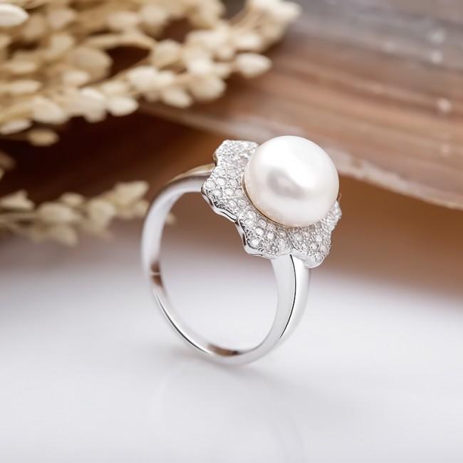 Nhẫn bạc Little Pearl 3