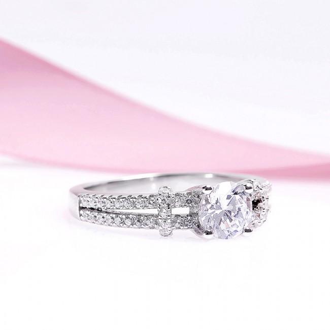 Nhẫn bạc Luxurious 3