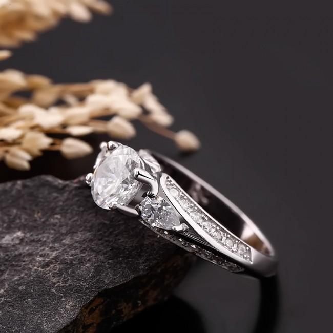 Nhẫn bạc Luxy Love 3