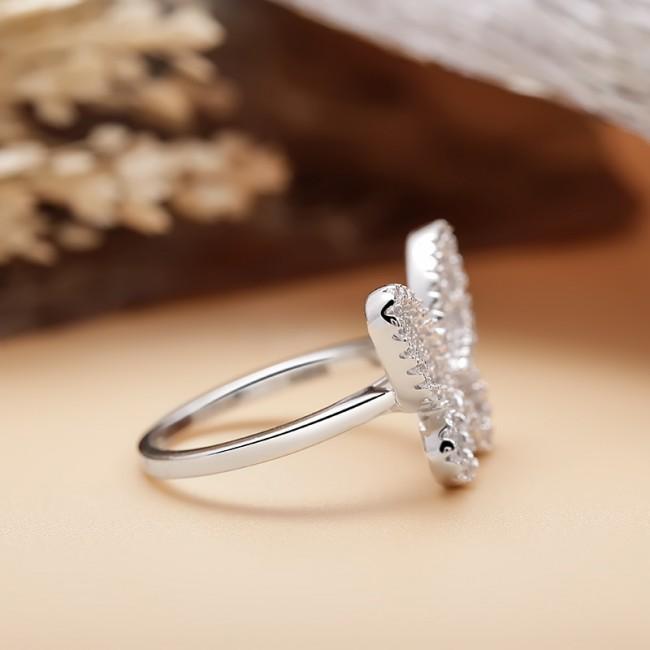 Nhẫn bạc Momo Butterfly 3