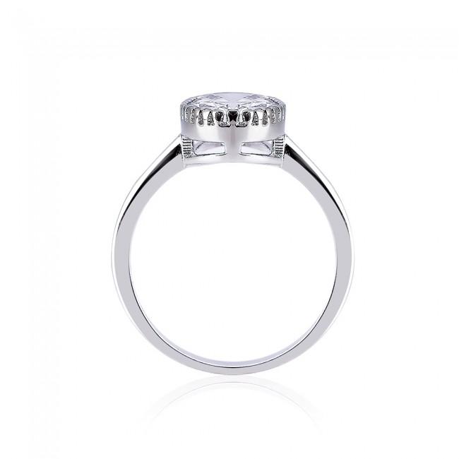 Nhẫn bạc hình Oval3