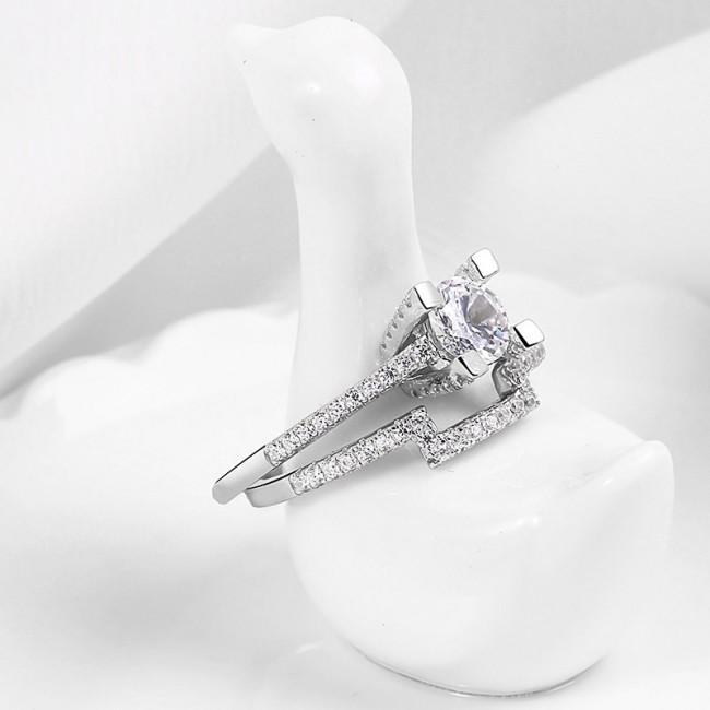 Nhẫn bạc Sephiara Like3
