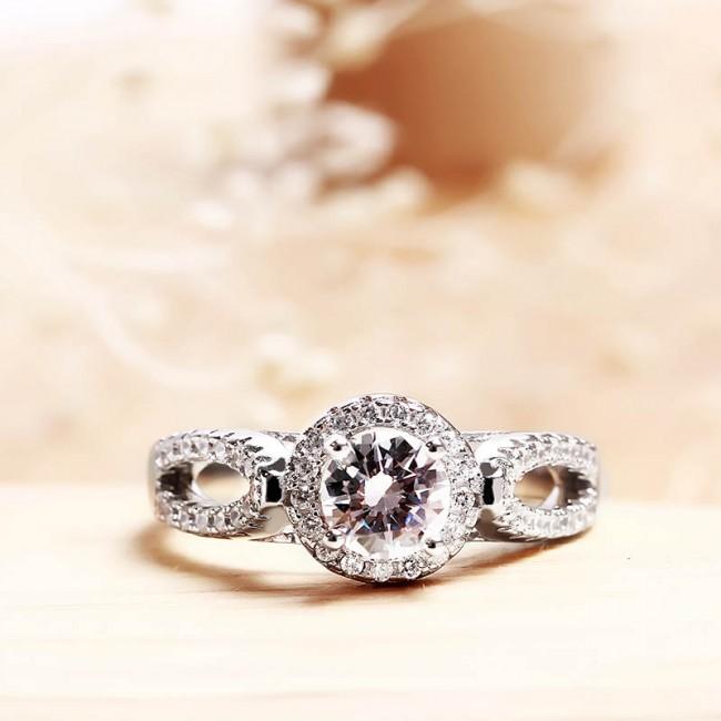 Nhẫn bạc Shine3