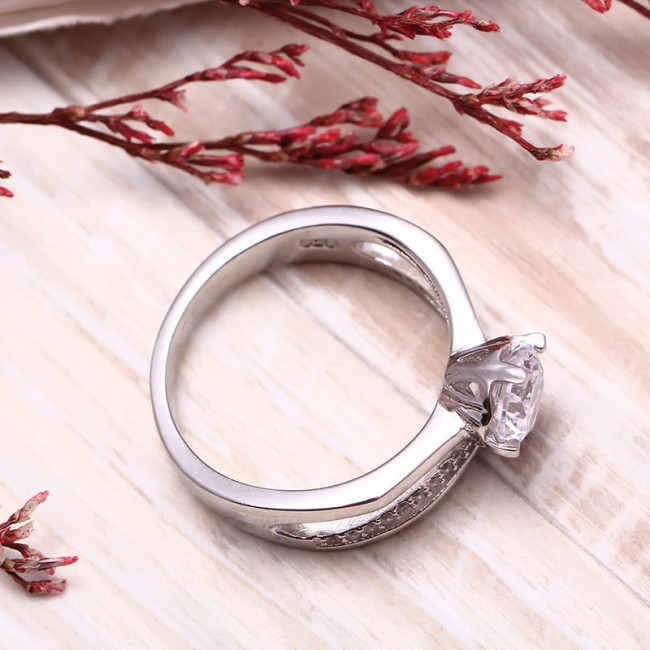 Nhẫn bạc Sunny 3