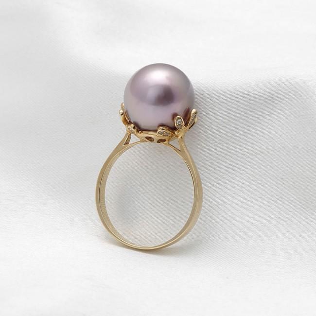 Nhẫn vàng 18k Allure Pearl 3