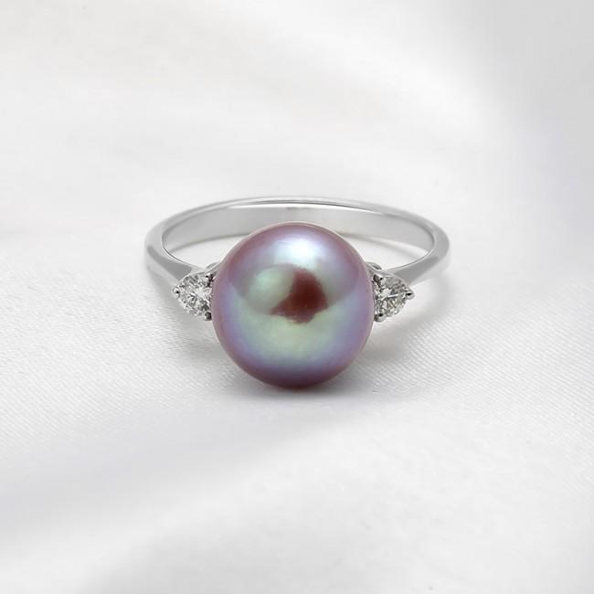 Nhẫn vàng 18k Faerie Pearl 3