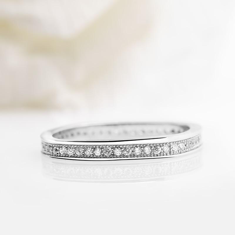 Nhẫn bạc Flower Love