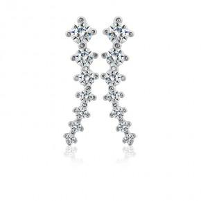 Bông tai bạc Twinkle Flowers