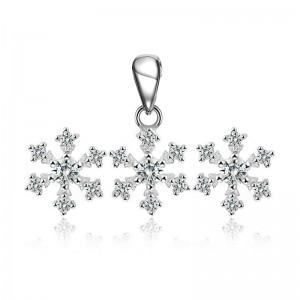 Bộ trang sức bạc Amazing Snowflake