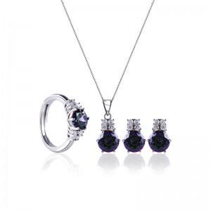 Bộ trang sức bạc Athun Love