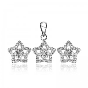 Bộ trang sức bạc Aurelia Love