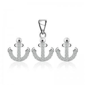 Bộ trang sức bạc Beauty Anchor