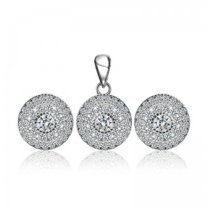 Bộ trang sức bạc Been Circle