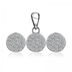 Bộ trang sức bạc Betty Circle