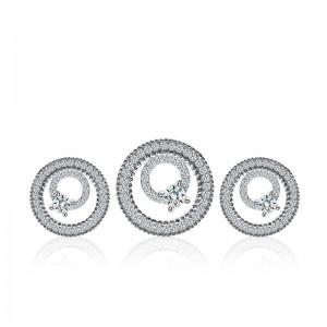 Bộ trang sức bạc Bibob Circle