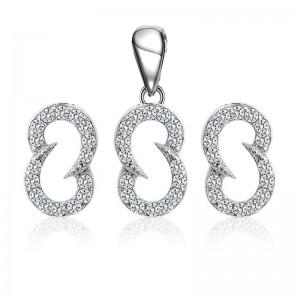 Bộ trang sức bạc Candy S