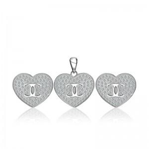 Bộ trang sức bạc Heart