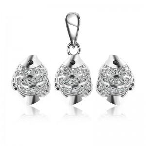 Bộ trang sức bạc Charm Fish