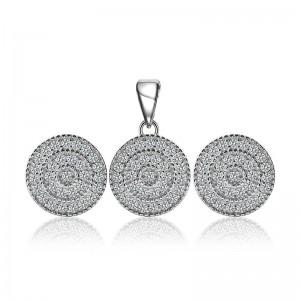 Bộ trang sức bạc Circle Of Fate