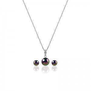 Bộ trang sức bạc Colour Of Pearl