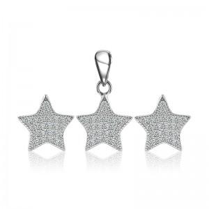 Bộ trang sức bạc Danny Star