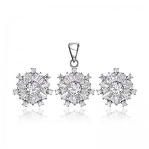 Bộ trang sức bạc Daria  Love Me