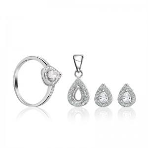 Bộ trang sức bạc Demin Love