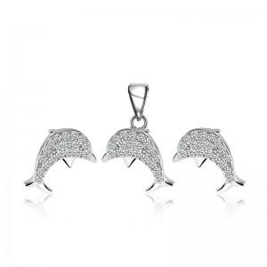 Bộ trang sức bạc Dolphin