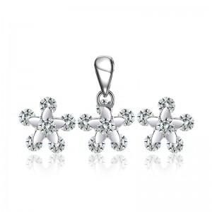Bộ trang sức bạc Doris Stars