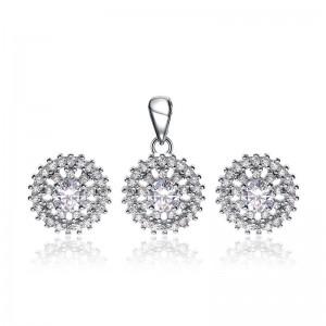 Bộ trang sức bạc Drusil Love