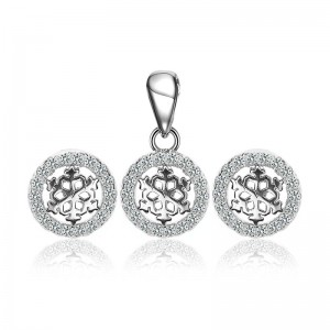 Bộ trang sức bạc Elysia Circle