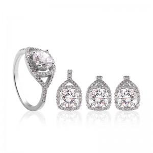 Bộ trang sức bạc Geson Love