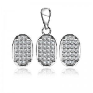 Bộ trang sức bạc Hanna Elip