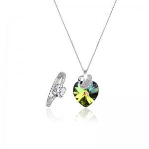 Bộ trang sức bạc Heart Love