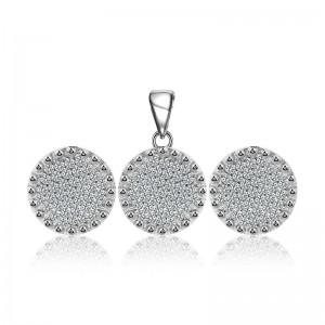 Bộ trang sức bạc Hebel Circle