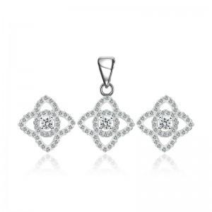 Bộ trang sức bạc Jasminne Love