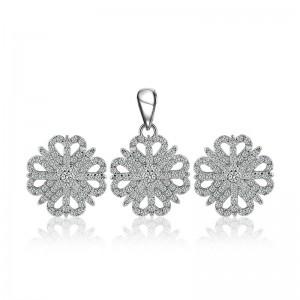 Bộ trang sức bạc Juice Flower