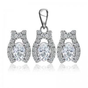 Bộ trang sức bạc Laza Love