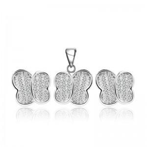 Bộ trang sức bạc Love Butterfly
