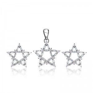 Bộ trang sức bạc Love Stars