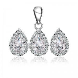 Bộ trang sức bạc Lucky Lady