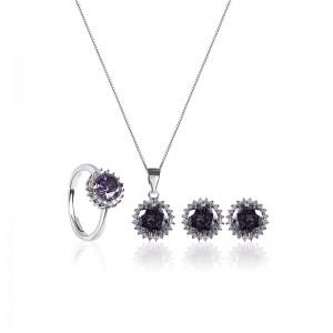 Bộ trang sức bạc Lucky Love