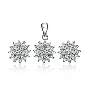 Bộ trang sức bạc Lulu Love