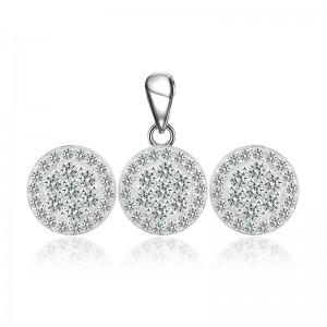 Bộ trang sức bạc Lux Love